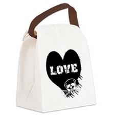 love_skull_panties Canvas Lunch Bag