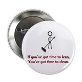 "Time to Lean 2.25"" Button (10 pack)"
