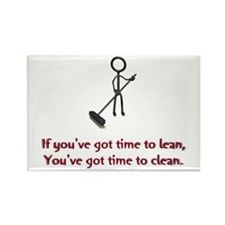 Time to Lean Rectangle Magnet (10 pack)