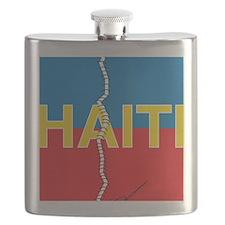 Haiti Poster-2 Flask