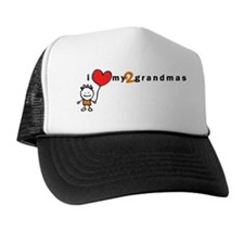 Ilovemytwograndmas_boy Trucker Hat