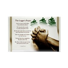 loggingprayer_panelprint Rectangle Magnet