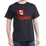 Canada & Canadian Flag T-Shirt