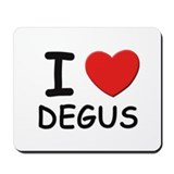 I love degus Mousepad