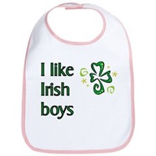 I Like Irish Boys Bib