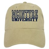 MCINTYRE University Baseball Cap