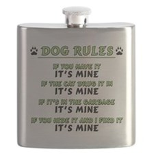 Dog Rules Flask