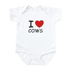 I love cows Onesie