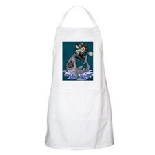 Jump The Shark Green Apron