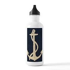 Flag Anchor Water Bottle