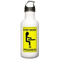 StepWorkInProgressSmal Water Bottle