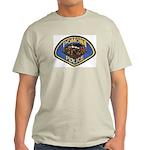 Pomona Police Ash Grey T-Shirt