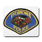 Pomona Police Mousepad