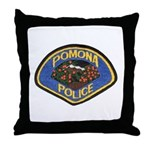 Pomona Police Throw Pillow