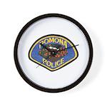 Pomona Police Wall Clock
