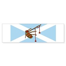 Bagpipes Bumper Bumper Sticker