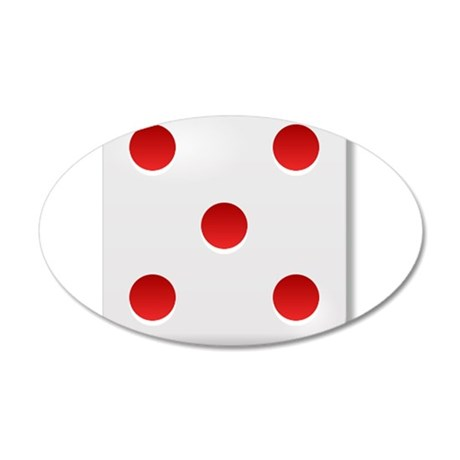 5 Dice Roll Wall Decal
