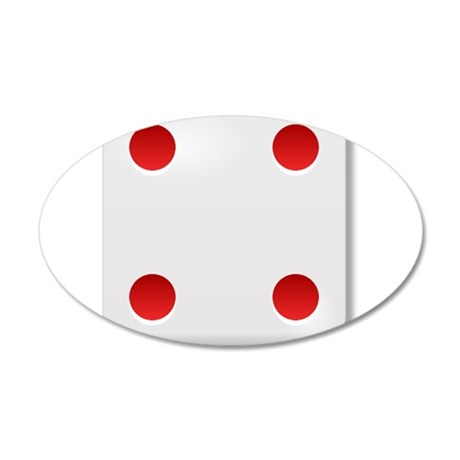 4 Dice Roll Wall Decal