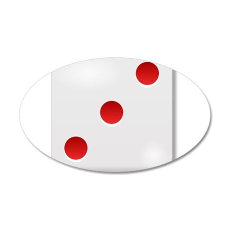 3 Dice Roll Wall Decal