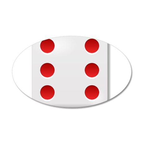 6 Dice Roll Wall Decal