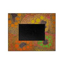brown fat by Odra Noel Picture Frame