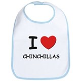 I love chinchillas Bib