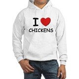 I love chickens Jumper Hoody