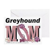 GreyhoundMom Greeting Card
