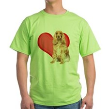 cocker spaniel valentine copy T-Shirt