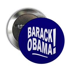 Barack Obama! Blue Button