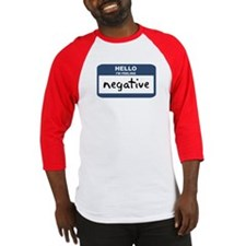 Feeling negative Baseball Jersey