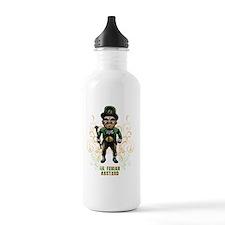 Angry Leprechaun Water Bottle