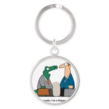 lawyer Round Keychain