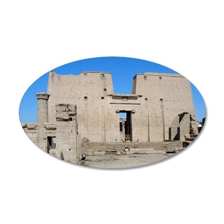 edfu 35x21 Oval Wall Decal
