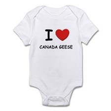 I love canada geese Infant Bodysuit