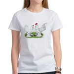 White d'Uccle Bantams Women's T-Shirt