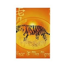 Year Of The Tiger 2010 PosterP Rectangle Magnet