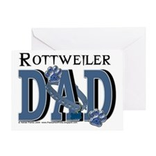RottweilerDAD Greeting Card