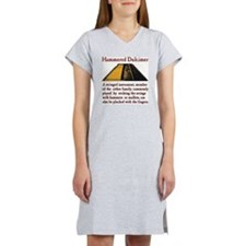 Hammered Dulcimer Definition Women's Nightshirt