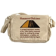Hammered Dulcimer Definition Messenger Bag