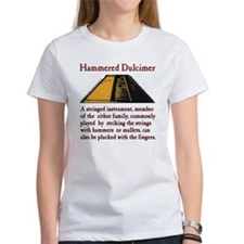 Hammered Dulcimer Definition Tee