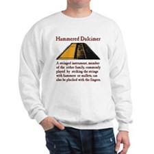 Hammered Dulcimer Definition Sweatshirt