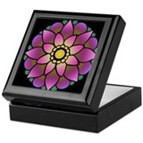 Lotus Mandala Keepsake Box