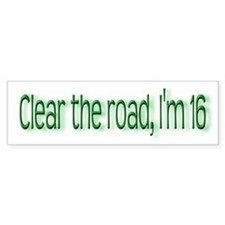 16 Bumpersticker