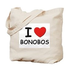 I love bonobos Tote Bag
