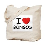 I love bongos Tote Bag
