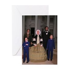 Lincoln Family Greeting Card