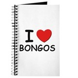 I love bongos Journal
