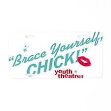 ByeByeBirdie_tshirt_Back Aluminum License Plate