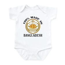 Made In Bangladesh Infant Bodysuit